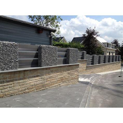 Ratsam ist es, den zaun mit vorhandenen. WPC Zaun Kombination mit Gabionen | Gabionenwand, Zaun, Gartenzaun
