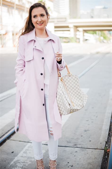 wear pastels  fall  winter christinabtv