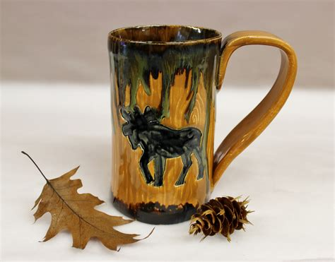 Spending eight words to describe your single coffee order is the opposite of that. Woodland Moose Man Size Coffee Mug, 24 oz. Stoneware Mug   Wild Crow Farm