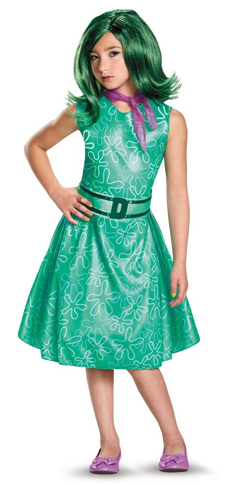 Disney Inside Out Classic Disgust Child Girl's Costume