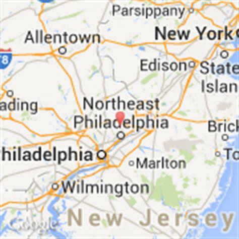 Carte Usa Villes Philadelphie by Villes Co Philadelphia Etats Unis Pennsylvania
