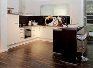 U Küchen Bilder : u k che wei mit dunklem holz ~ Sanjose-hotels-ca.com Haus und Dekorationen