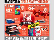 Staples and Radio Shack to Offer Modest Black Friday