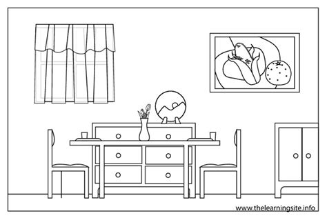 dining room clipart black and white rooms in a house clipart black and white clipartxtras