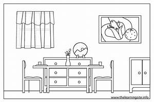 Rooms In A House Clipart Black And White - ClipartXtras