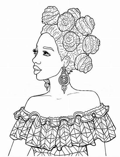 Coloring Pages Books African Printable Culture Drawings