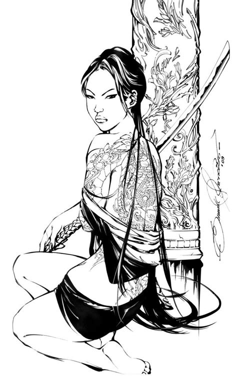E.A. IRIS 1 Cover -lineart- by eDufRancisco on deviantART | poses costumes and angles in 2019