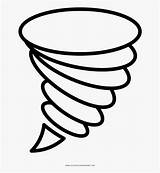 Tornado Draw Coloring Clip Icon Clipart Transparent Clipartkey Pinclipart Kindpng sketch template