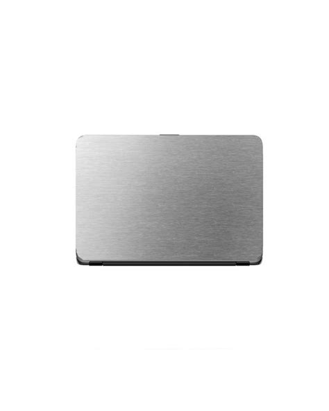 Universal Laptop Protector Steel Texture – Silver