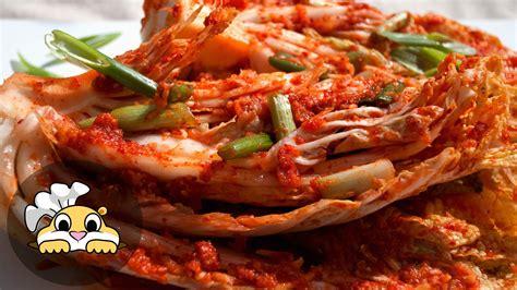 kimchi recipe kimchi recipe authentic korean kimchi recipe 김치 youtube