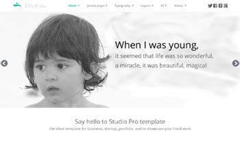 Realizzare Template Joompla Bootstrap by Templates Joomla Pro Template Joomla Free