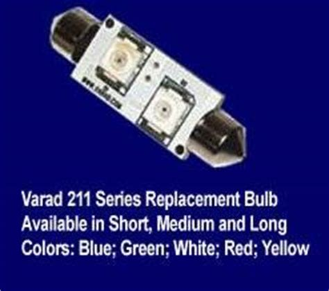 varad led dome light replacement bulb size