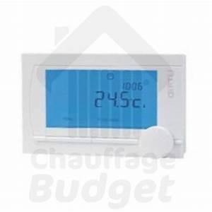Thermostat D Ambiance : thermostat d 39 ambiance communicant filaire oertli rs200 ~ Edinachiropracticcenter.com Idées de Décoration