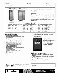 Download Free Pdf For Traulsen G12010 Refrigerator Manual