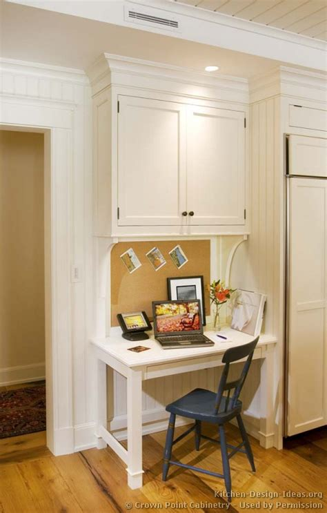small desk area ideas pictures of kitchens traditional white kitchen