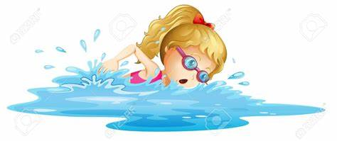 foto de Girl Swimming Clipart Free download on ClipArtMag