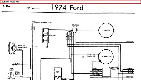 1972 Ford F100 4x4 Wiring Diagram by I Need Wiring Diagram For A 1974 Ford F250