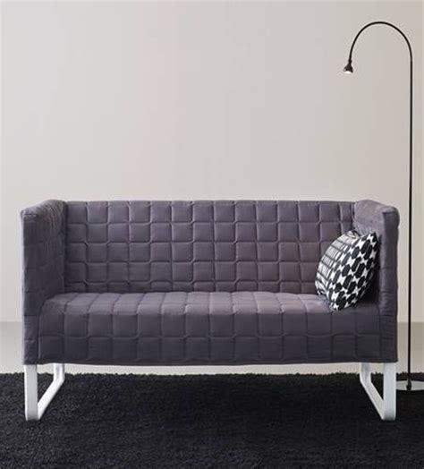 knopparp loveseat ikea knopparp mini sofa grey i absolutely this