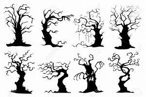Gnarly, Trees, Clipart, 20, Free, Cliparts