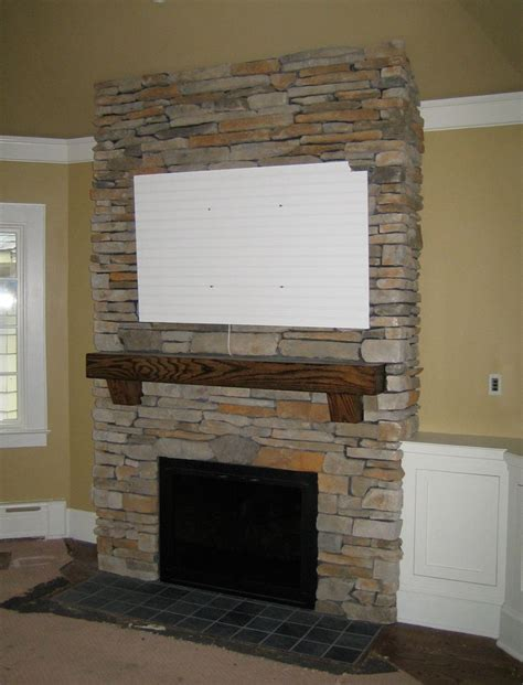 Update Your Decor With This Gray Brick Peel And Stick Wallpaper by Brick Fireplace Pictures Veneers And Space For A