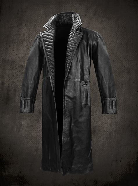marvel iron man  nick fury leather coat official