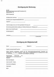 Kündigung Mietvertrag Nachmieter : kuendigung der wohnung und mitgliedschaft wgo osnabr ck ~ Orissabook.com Haus und Dekorationen