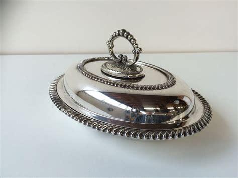 decoratie rand dubbele ovalen serveerschaal met rand decoratie engeland