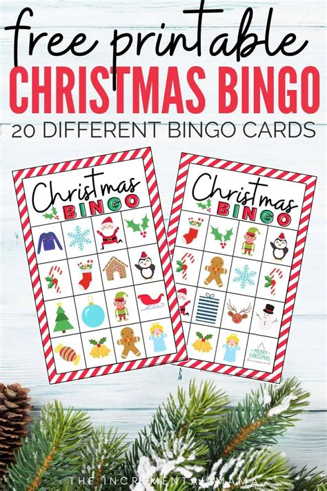 We did not find results for: 20 Free Printable Christmas Bingo Cards - The Incremental Mama
