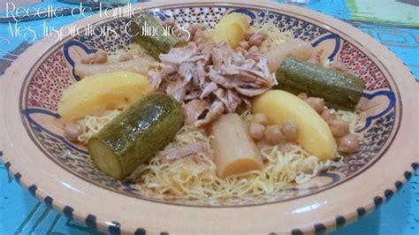 cuisine sauce blanche rechta au poulet sauce blanche cuisine algérienne le