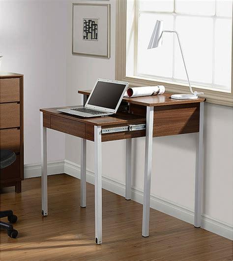 le bureau moderne le bureau escamotable décisions pour les petits espaces