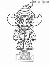 Fortnite Coloring Pages Colouring Sheets Printable Nutcracker Character Battle Nite Royale Drawing Drift King Ice Boys Crackshot Ragnarok Many Games sketch template