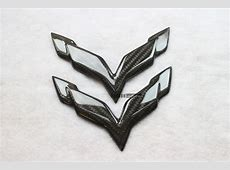 Carbon fiber emblem for Corvette Stingray C7 Z06