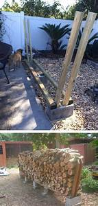U221a, 14, Best, Diy, Outdoor, Firewood, Rack, And, Storage, Ideas, Images