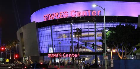 top tips    great time  staples center