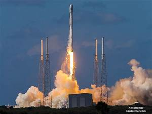 SpaceX Falcon 9 Thunders to Space with Thai Comsat ...
