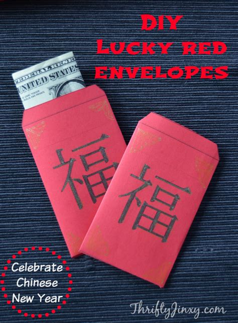 celebrate chinese  year   diy lucky red