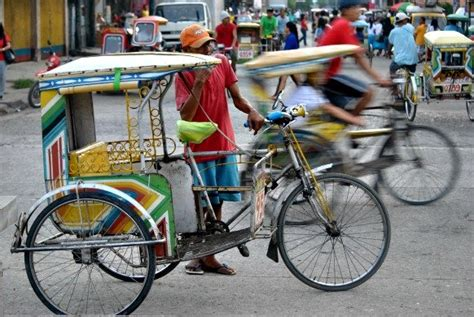 philippine pedicab pedicabs to transport guests of asia pacific mayors