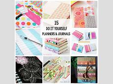 15 Planners & Journals to Make or Print at Home Crazy