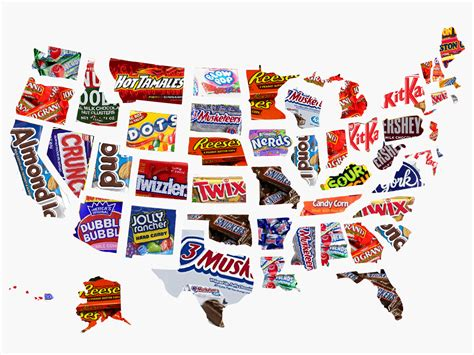 The most popular Halloween candy in every US state 15