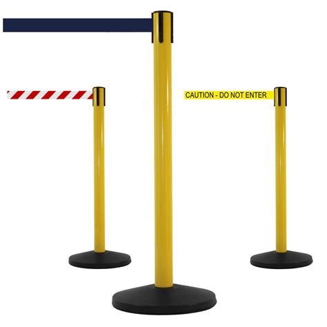 safetymaster high visibility retractable barrier