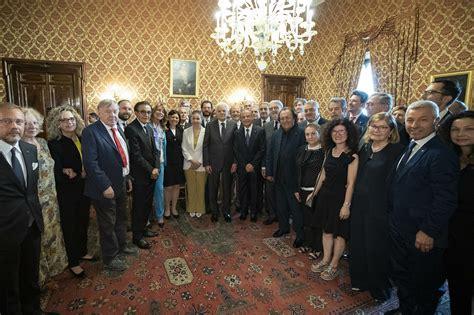 ufficio sta quirinale tumori il presidente mattarella accoglie una delegazione