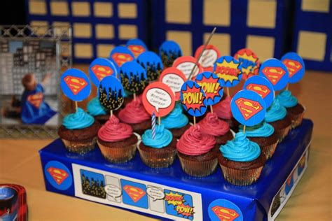 Superman 1st Birthday Party