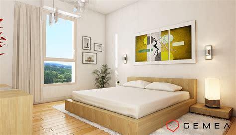 chambre 3d perspective 3d intérieure réalistes