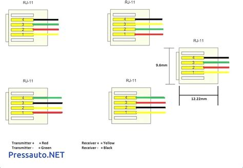 convert rj11 to rj45 wiring diagram gallery wiring collection