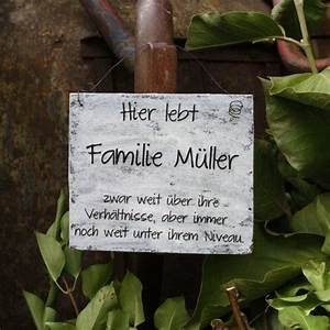 Türschilder Holz Familie : 18 besten t rschilder aus holz im shabbystyle bilder auf ~ Lizthompson.info Haus und Dekorationen