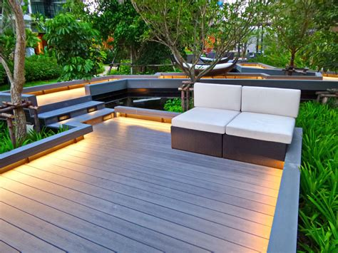 large wood planter 25 top modern deck ideas pictures designing idea
