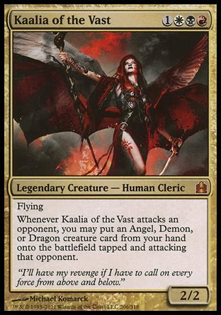 Kaalia Of The Vast Edh Deck Competitive by Kaalia S Army Of Annihilation Competitive Multiplayer