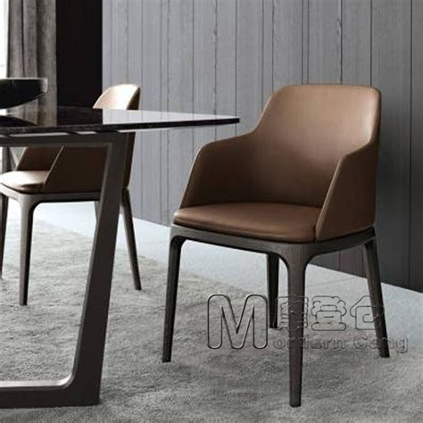 modern warehouse poliform grace chair master wood