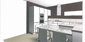 Colonne D Angle Cuisine : les projets implantation de vos cuisines 8902 messages page 553 ~ Teatrodelosmanantiales.com Idées de Décoration
