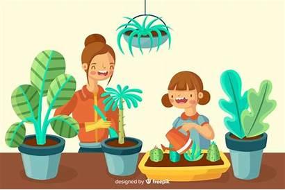 Care Plants Taking Clipart Planten Voor Zorgen